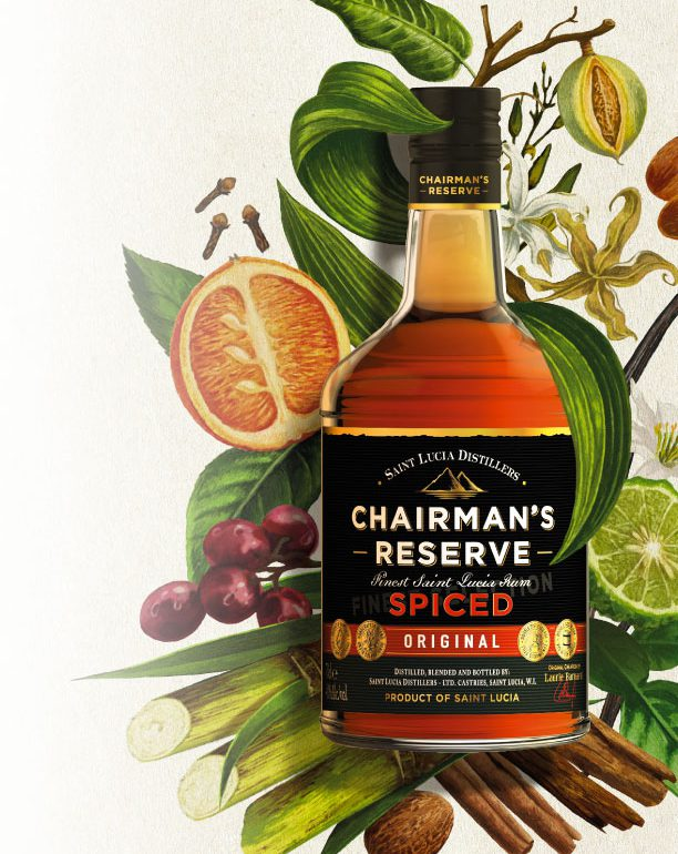 Chairmans Reserve Spiced Rum - from Big Island Wholesalers exclusively.
