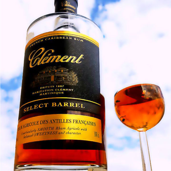 Rhum Clement Select Barrel. Only from Big Island Wholesalers.