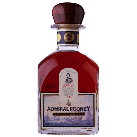 Admiral rodney Old Rum - exclusively from Big Island Wholesalers