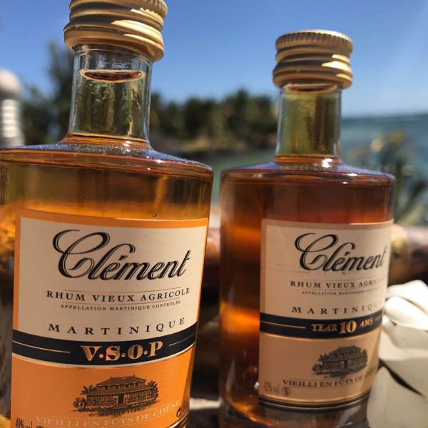 Rhum Clement VSOP and 10 Year. Only from Big Island Wholesalers.